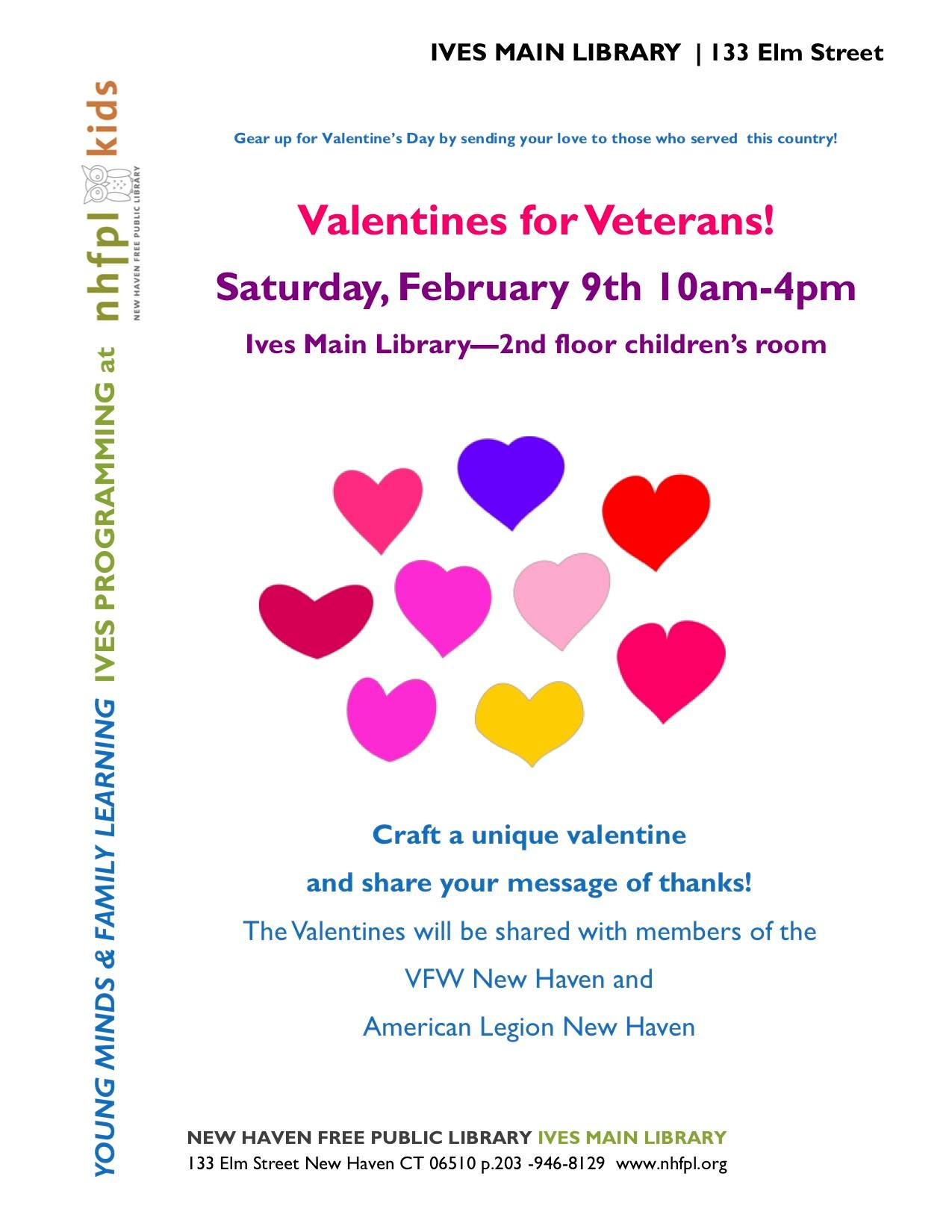 Valentines for Veterans!