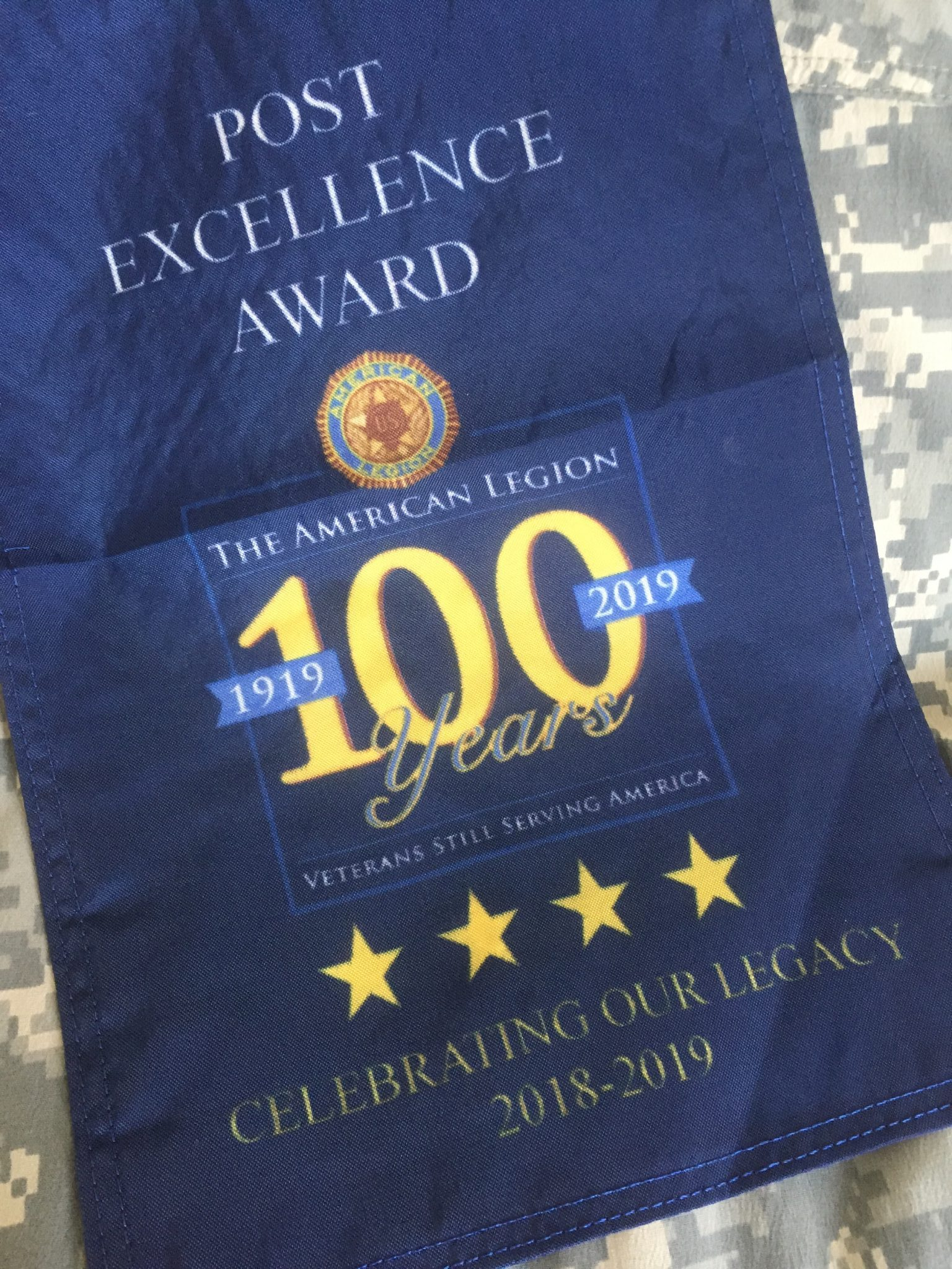 American Legion Post Excellence Award