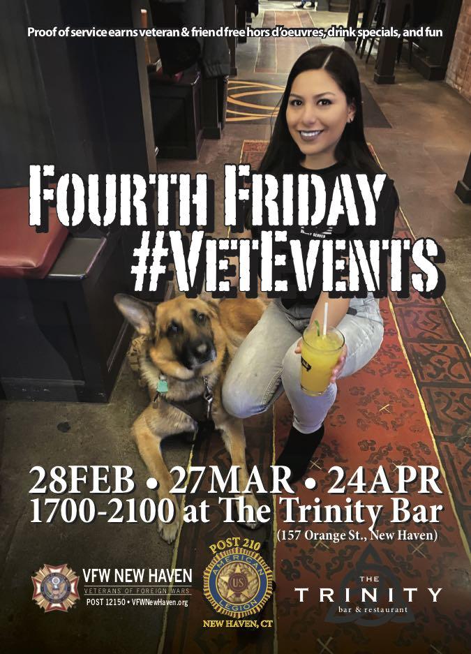 Fourth Friday #VetEvents